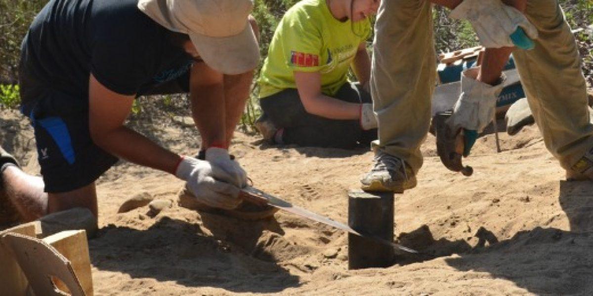 Hacen llamado a jóvenes a participar de trabajos voluntarios en parques nacionales