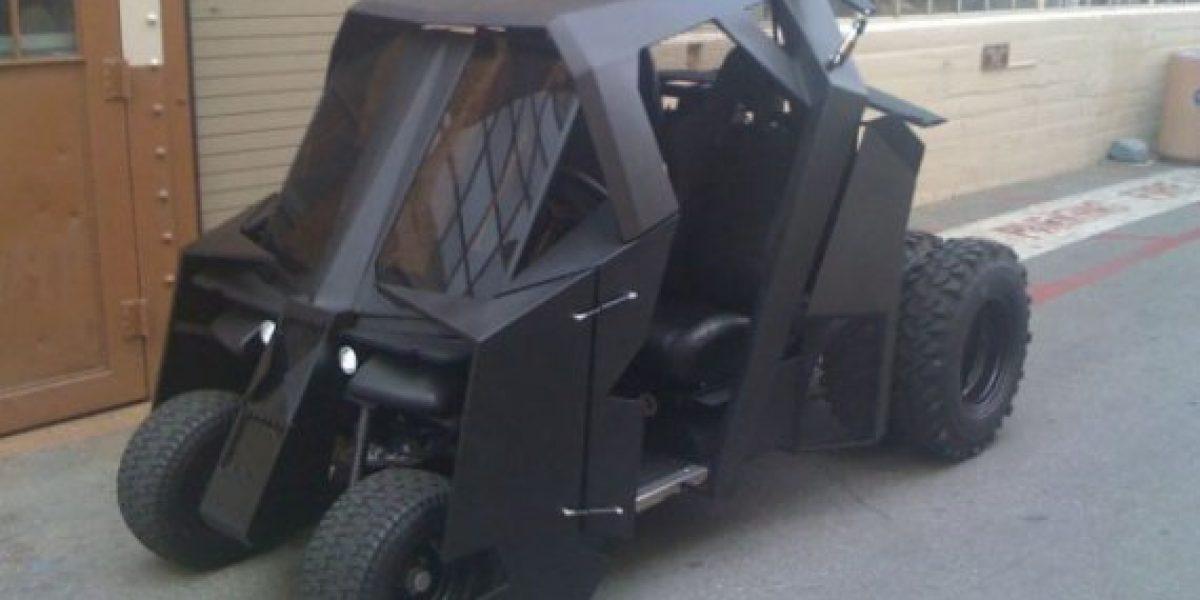 El auto perfecto para los fanáticos del golf y de Batman
