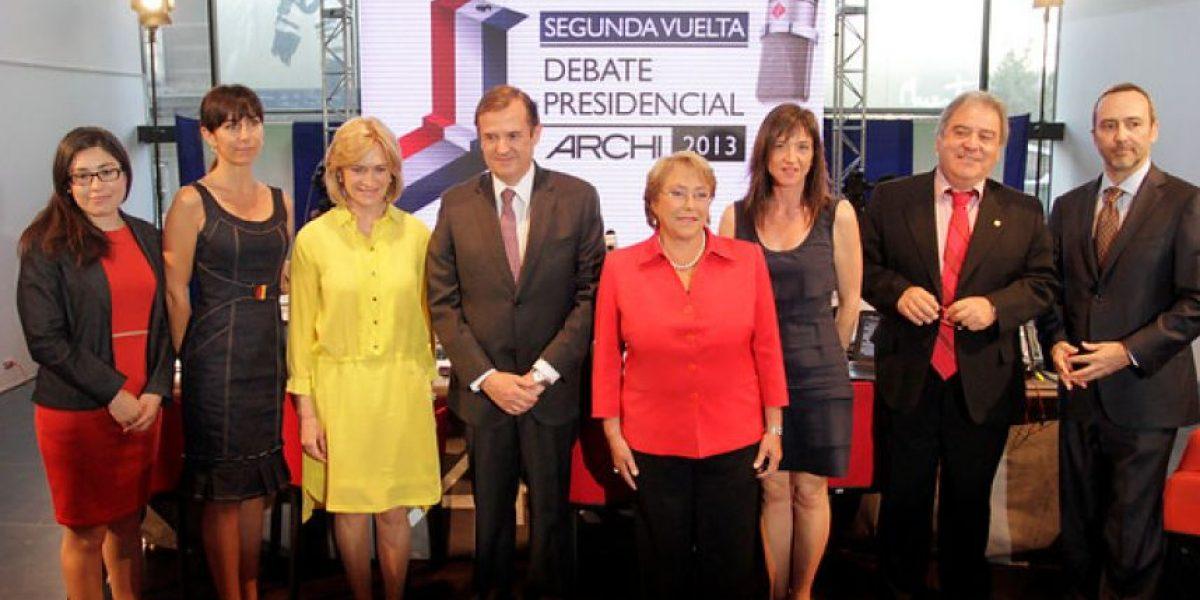 FOTOS: Todo sobre el debate presidencial programado por la ARCHI
