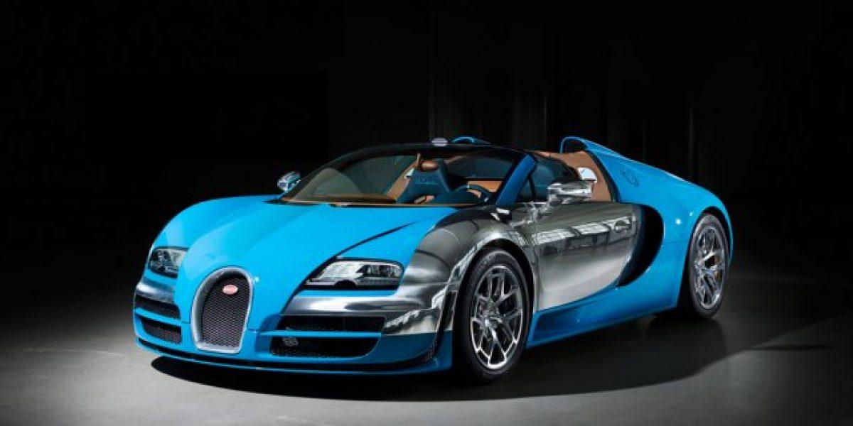 Bugatti Veyron a punto a agotarse