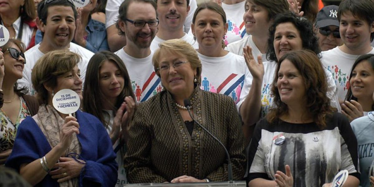 Fotos: Michelle Bachelet dio inicio a cicletada en Providencia