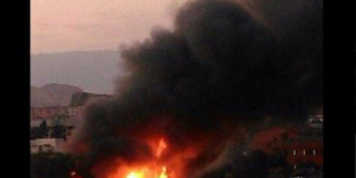 Fotos: Gran incendio en Cumming con Agustinas