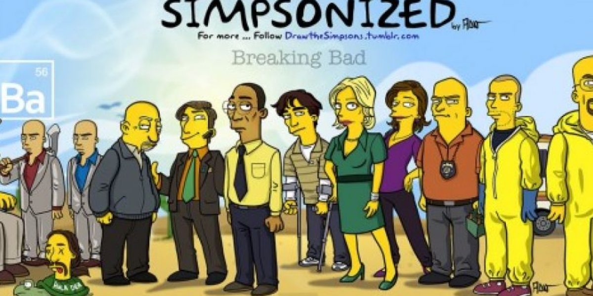 Fotos: Los personajes de Breaking Bad al estilo simpson