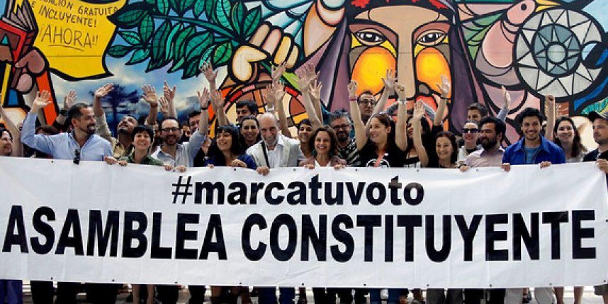 Rostros de televisión apoyan campaña #Marcatuvoto