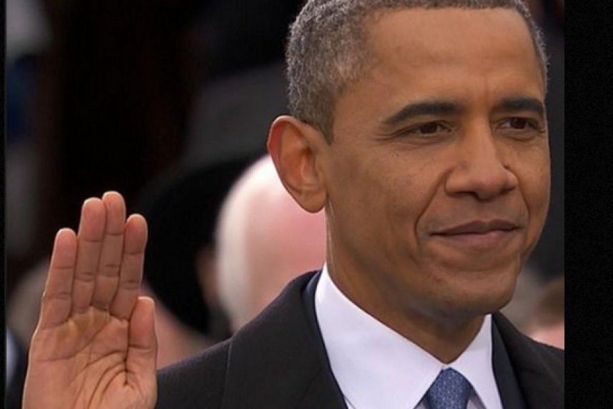 Foto:Barack Obama jura por segunda vez como Presidente. Imagen Por: