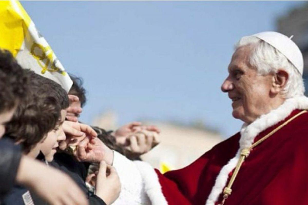 Foto:El Papa Benedicto XVI anuncia su renuncia. Imagen Por: