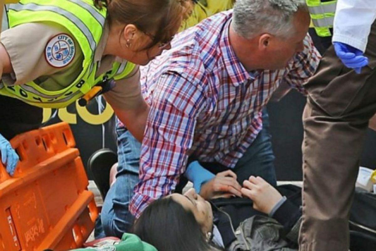 Foto:Explosiones en el maratón de Boston. Imagen Por: