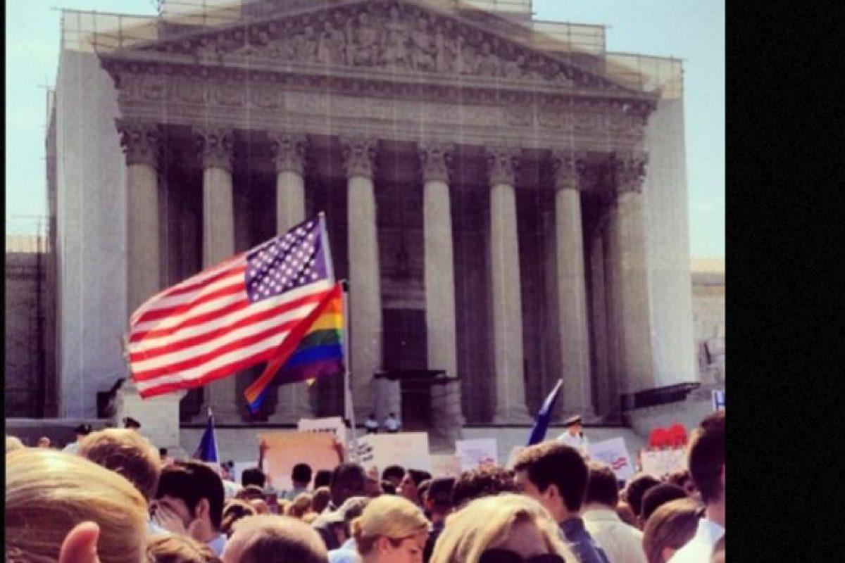 Foto:La Corte Suprema de EU revoca la Ley de defensa del matrimonio. Imagen Por: