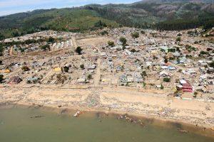 Dichato después del terremoto. Imagen Por: