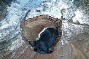 El monte Vesubio, en Italia, la foto con más «likes» del concurso (más de 5.230) Foto:Digital Globe. Imagen Por: