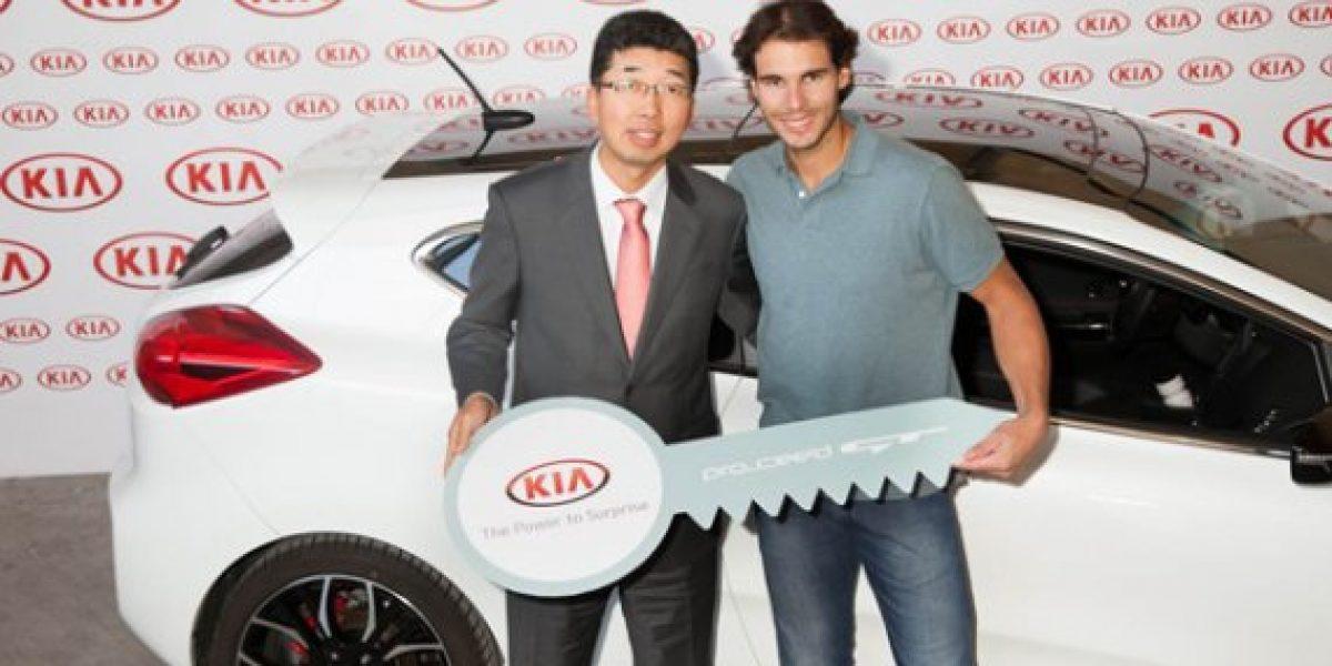 El nuevo auto de Rafael Nadal