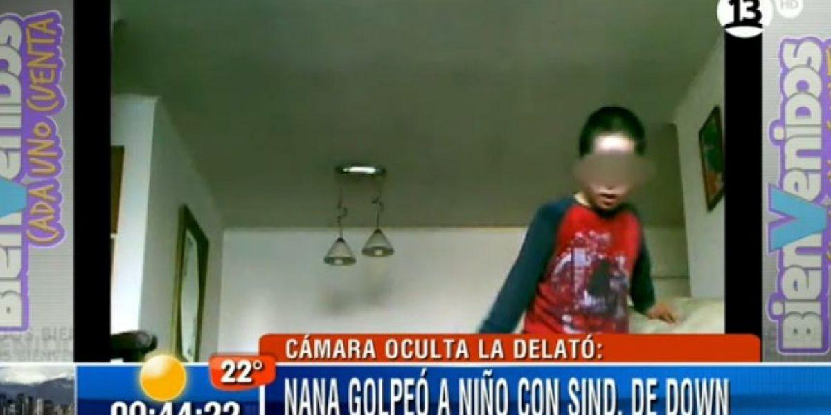 Nuevo caso de maltrato: Nana golpeaba a niño con Síndrome de Down