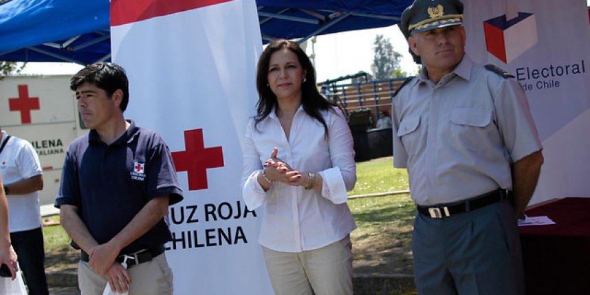 Fotos: Servel y Cruz Roja entregan recomendaciones para quienes asistan a votar este domingo