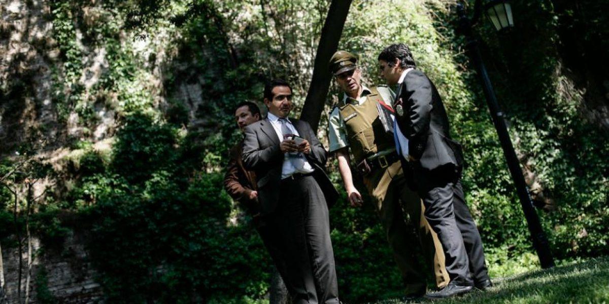 Encuentran el cuerpo de un hombre en el Cerro Santa Lucía