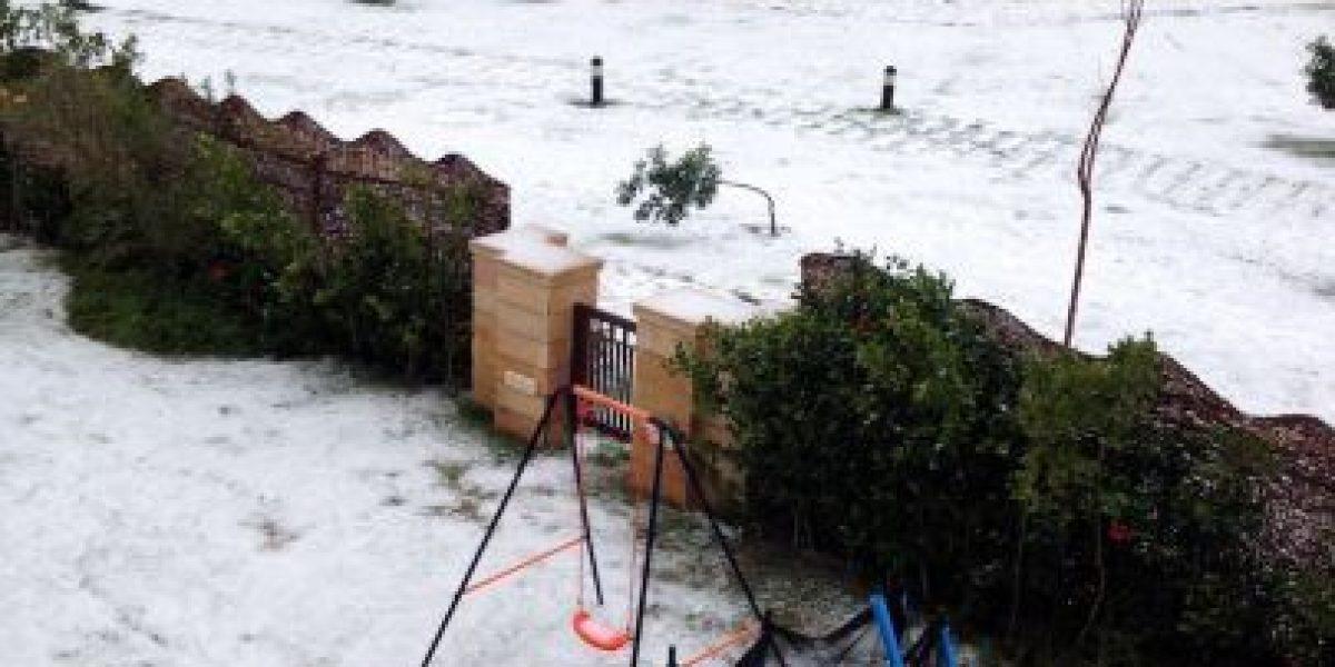 FOTOS: Cae nieve en Egipto por primera vez en 112 años