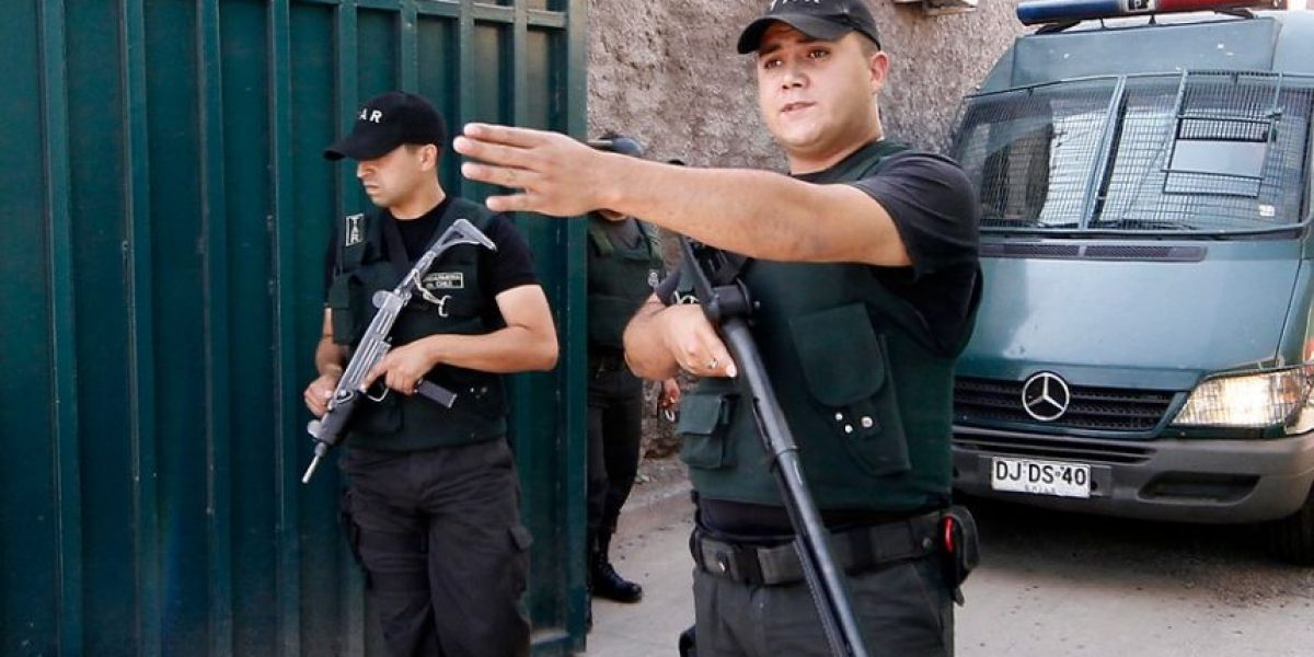 [FOTOS] Expectación en Cárcel de Alta Seguridad por inminente salida de Spiniak