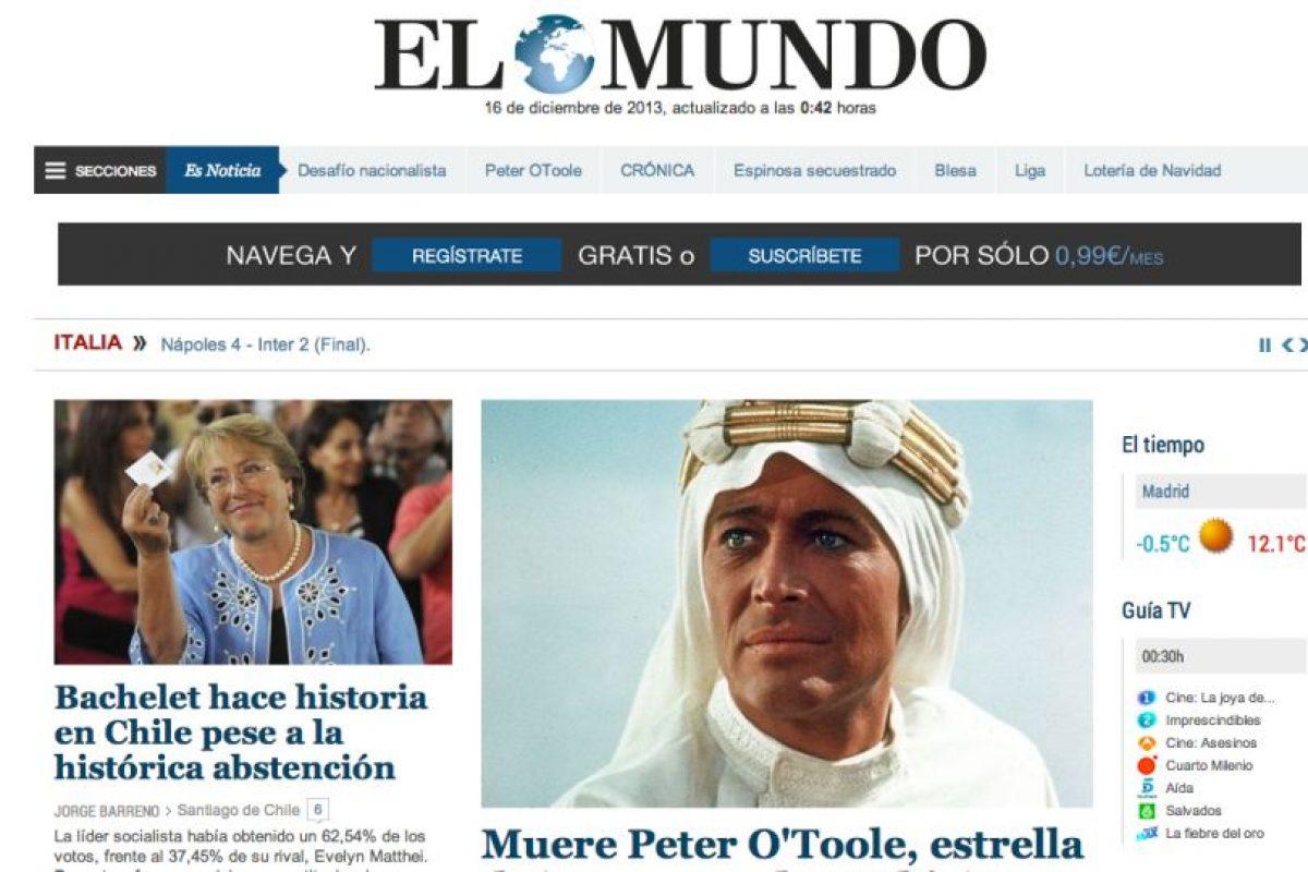 El Mundo (España). Imagen Por: