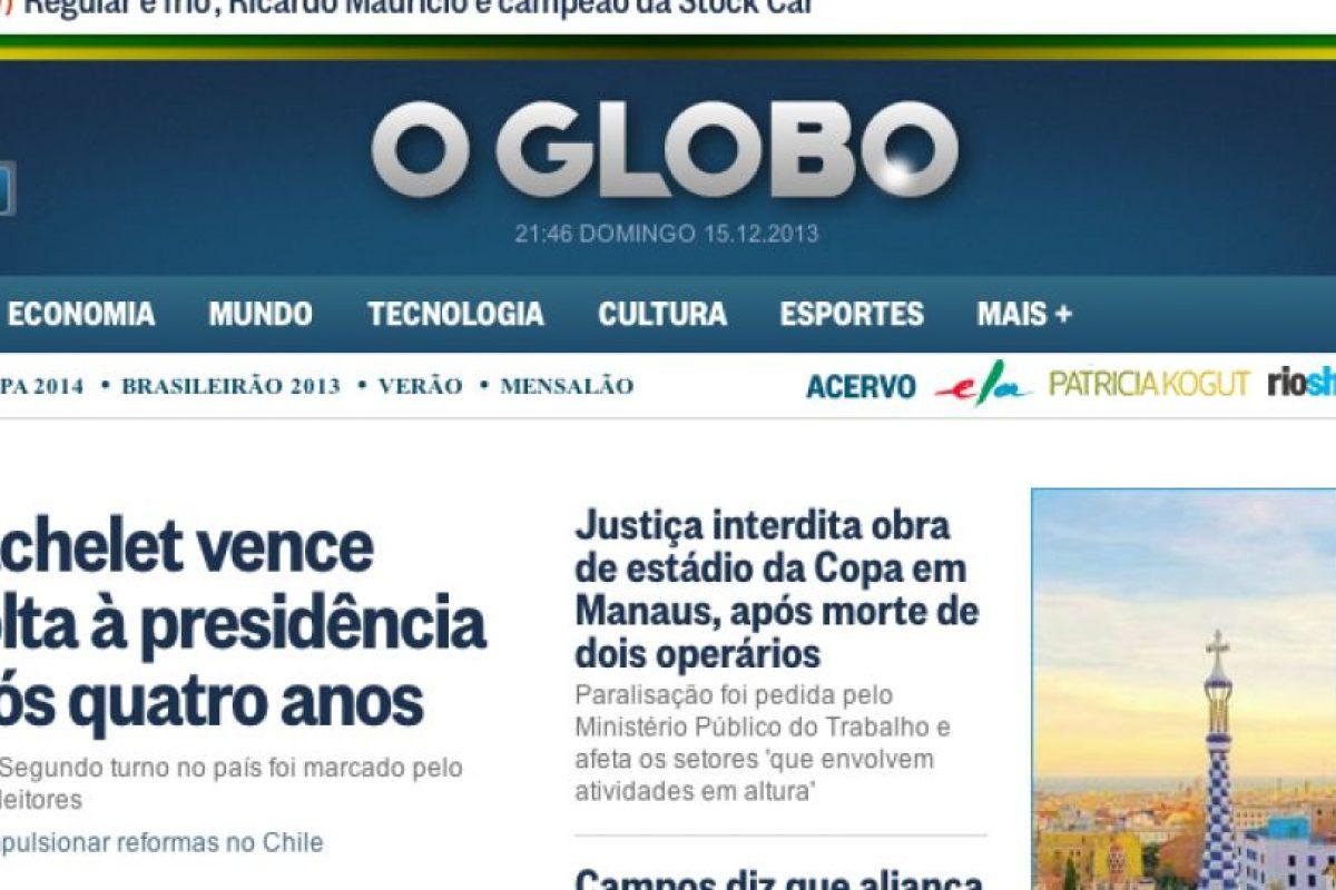 O Globo (Brasil). Imagen Por: