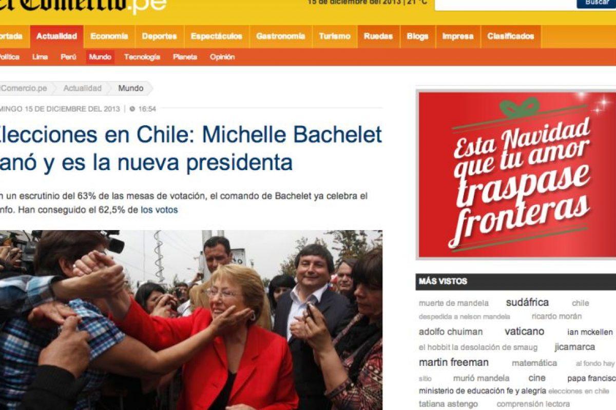 El Comercio (Perú). Imagen Por:
