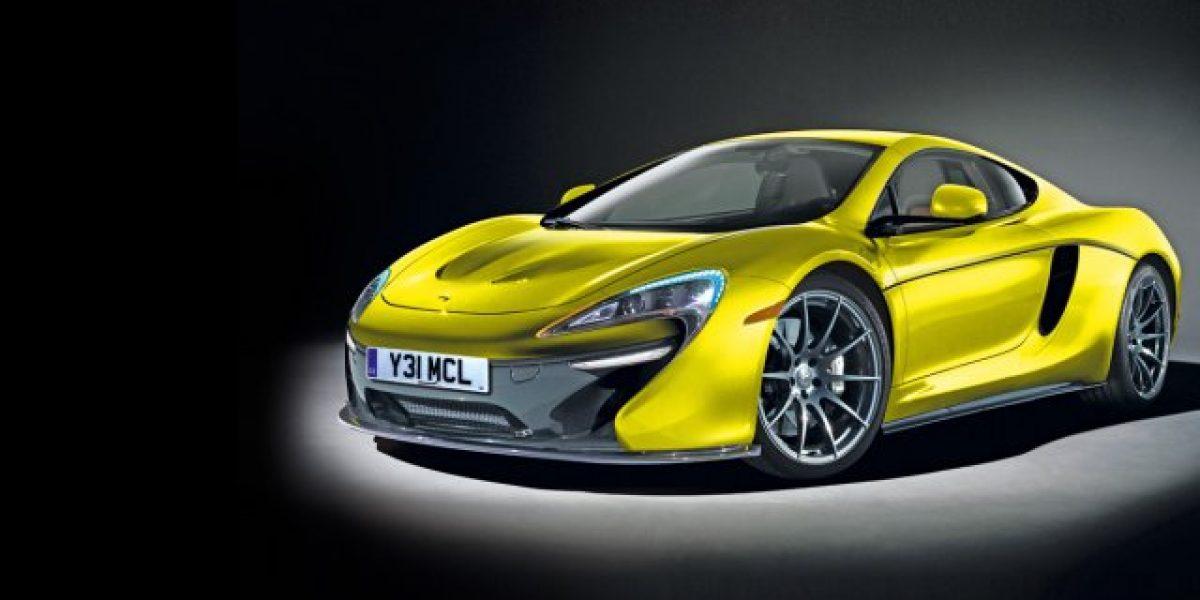 Las primeras imágenes del McLaren P13