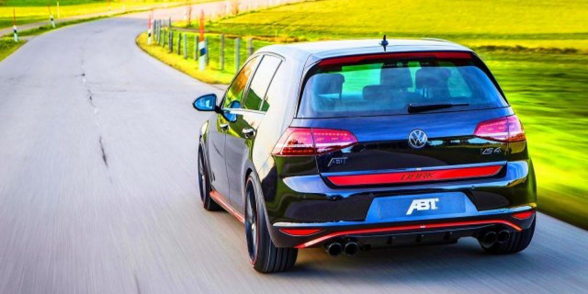 El increíble Volkswagen Golf VII GTI Dark Edition