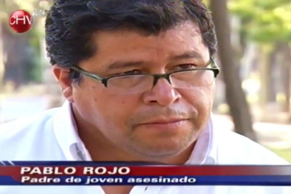 """Pablo Rojo, padre de los niños atacados, actualmente está emparejado con Miriam Peña, conocida en Puente Alto como """"la Rancherita"""" Foto:Captura CHV. Imagen Por:"""
