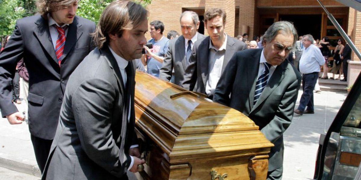 [FOTOS] Diputado Joaquín Godoy encabezó concurrido adiós de su fallecido padre