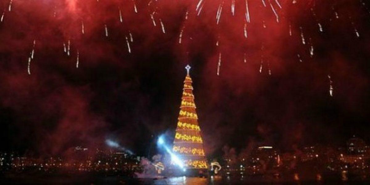 Galería: los árboles de Navidad más llamativos del mundo