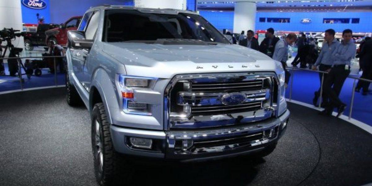 Así sería la nueva Ford F-150 2015