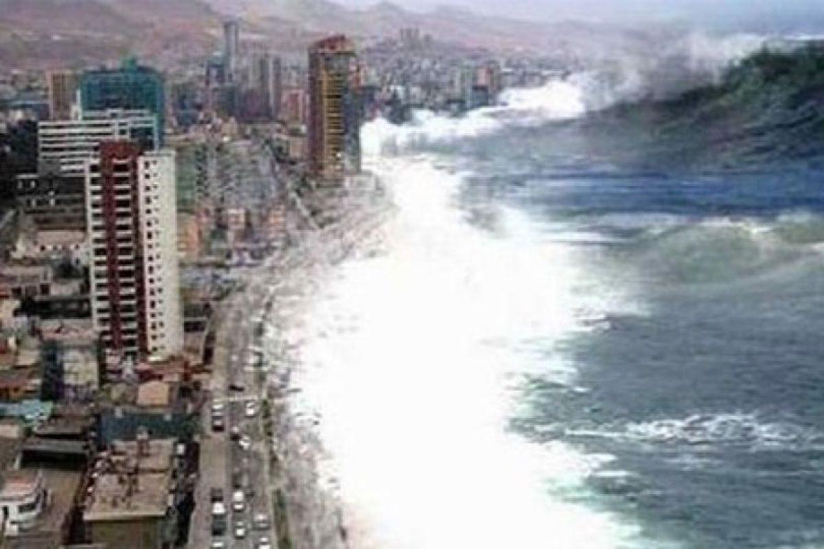 Este montaje de Antofagasta, pasó por el tsunami de la India de 2004 Foto:Blog Ceslava.com. Imagen Por: