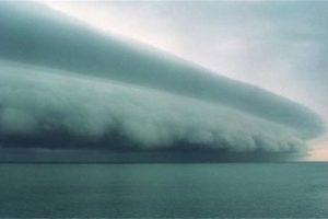 Esta imagen creada con Photoshop fue retuiteda miles de veces como si fuera el huracán Isaac Foto:Blog Ceslava.com. Imagen Por: