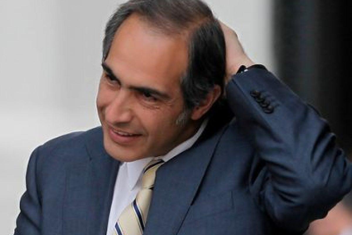 El Senador Francisco Chauán, vicepresidente del partido es uno de los favoritos de Larraín. Se habló de él como candidato presidencial de unidad cuando se bajó Longueira. Imagen Por: