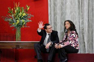 """Cecilia Pérez es cercana a Ossandón. Pero también podría dejar RN para integrar el """"movimiento"""" de Piñera. Imagen Por:"""
