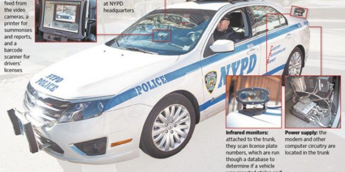 El auto fantástico de la policía de NY ya está en camino