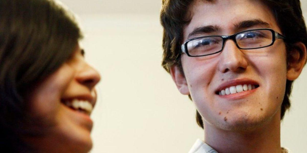 [FOTOS] Este joven es José Enrique González, triple puntaje nacional de la PSU