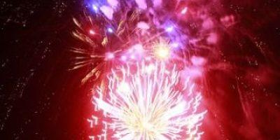 La Florida tuvo su propia fiesta de fuegos artificiales
