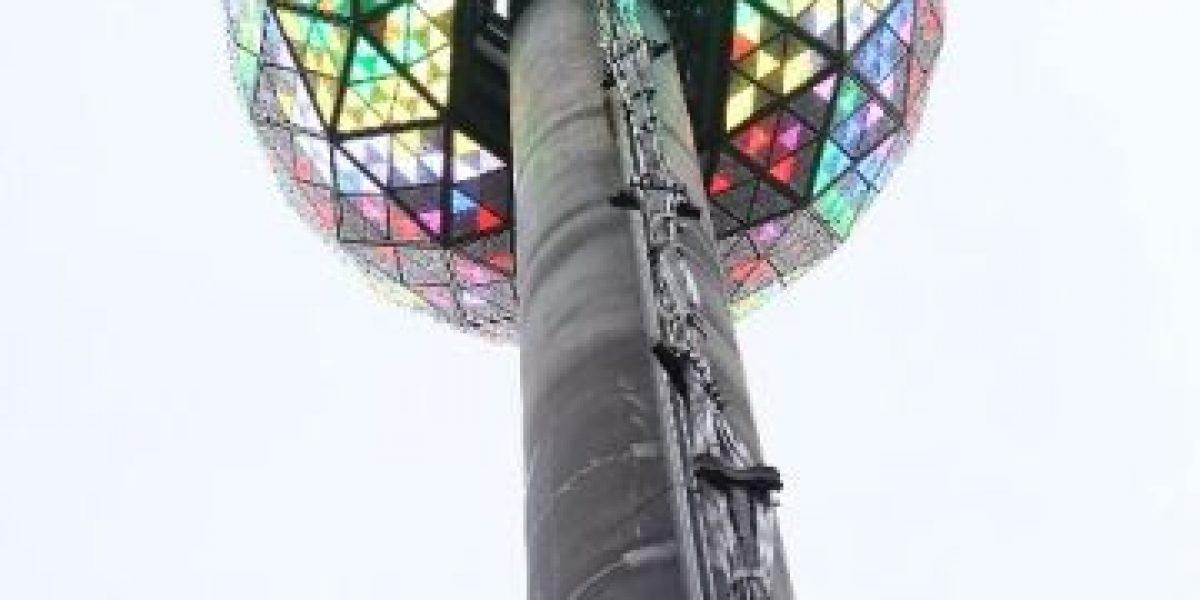 La plaza de Times Square ya está preparada para celebrar la llegada de 2014