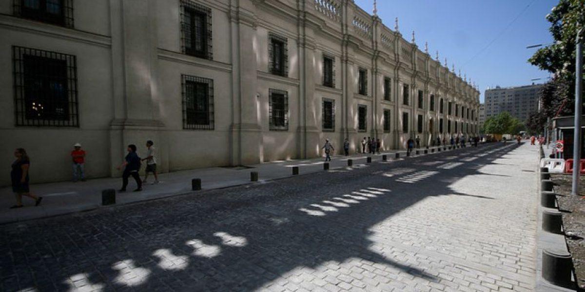 Galería:Reabren calles Agustinas, Teatinos y Nataniel al tránsito vehicular