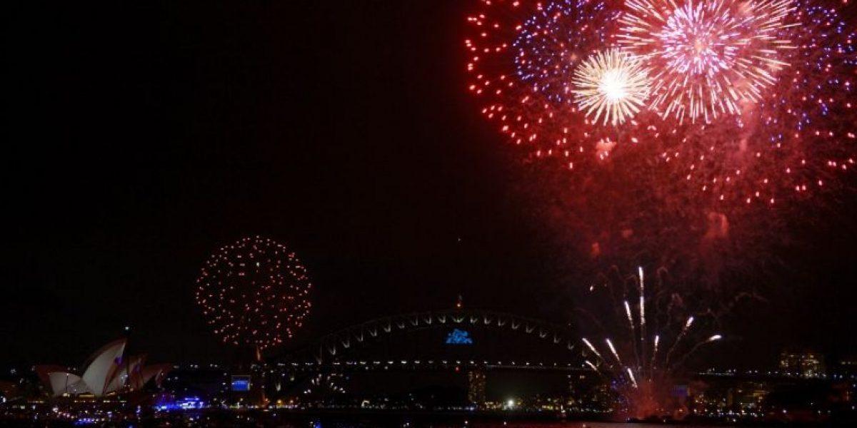 Australia y Nueva Zelanda celebran la llegada de 2014
