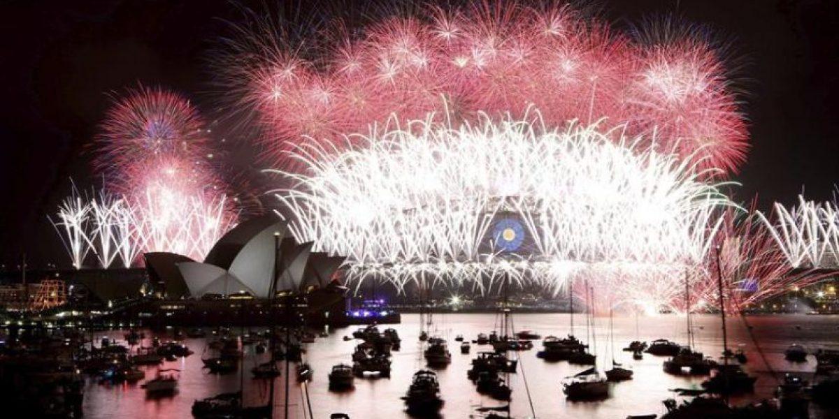 [FOTOS] Australia, China y Singapur reciben el Año Nuevo con grandiosos shows pirotécnicos