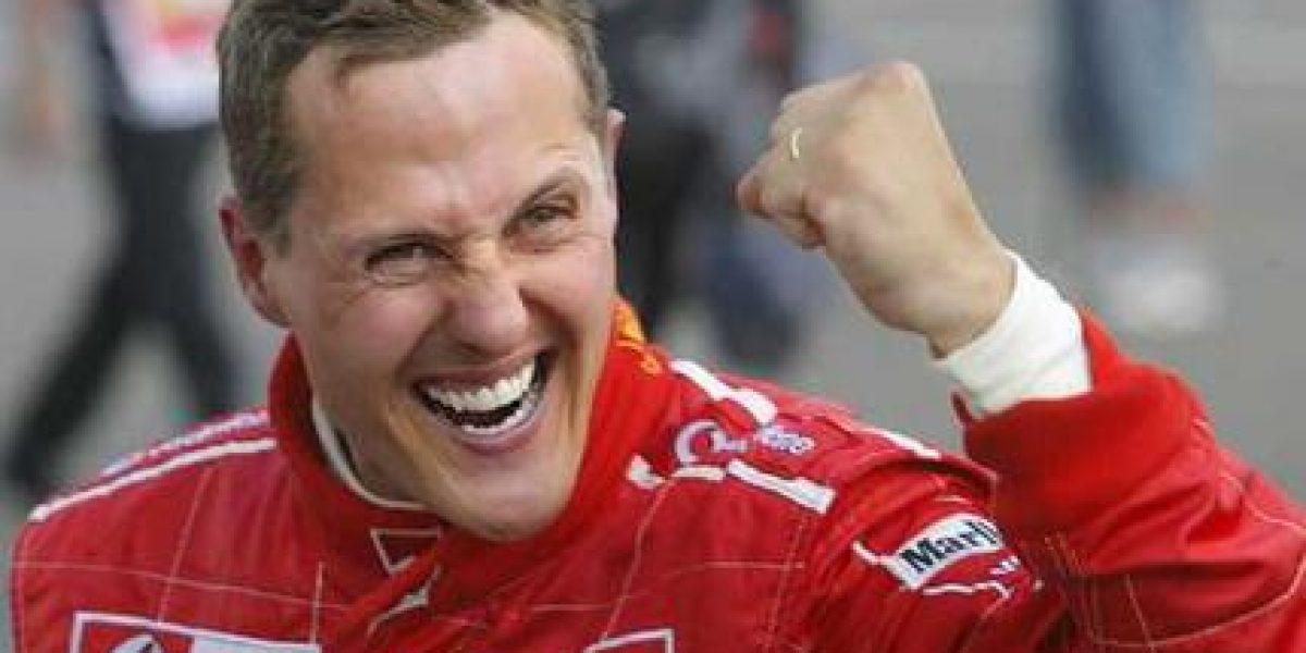 Michael Schumacher presenta leve mejoría