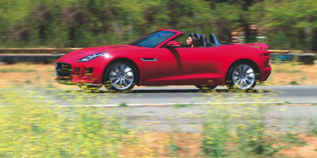 Autotest Jaguar F-Type