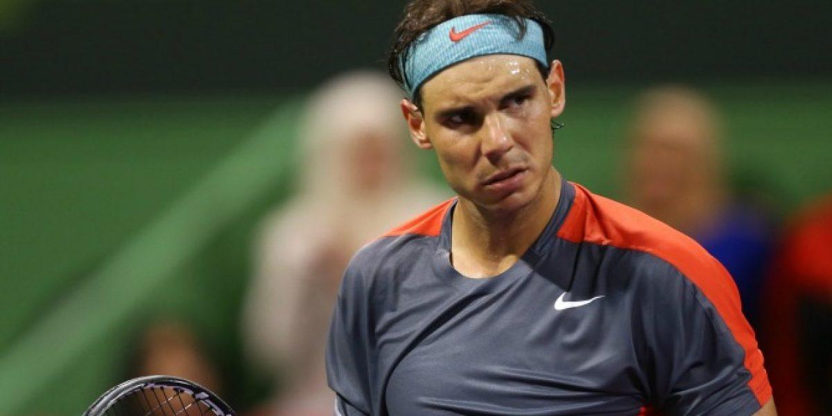 Rafael Nadal y Andy Murray tuvieron dispar suerte en Abierto de Qatar