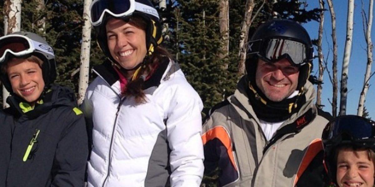 Foto de Barrichello esquiando genera polémica en las redes sociales