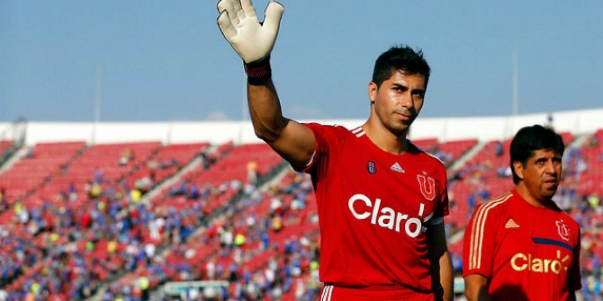 Johnny Herrera se pierde debut de la U en el Clausura 2014