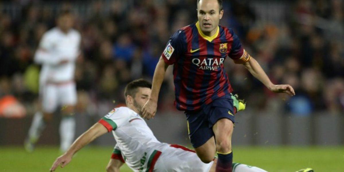 Andrés Iniesta no escatima en elogios para Pellegrini: