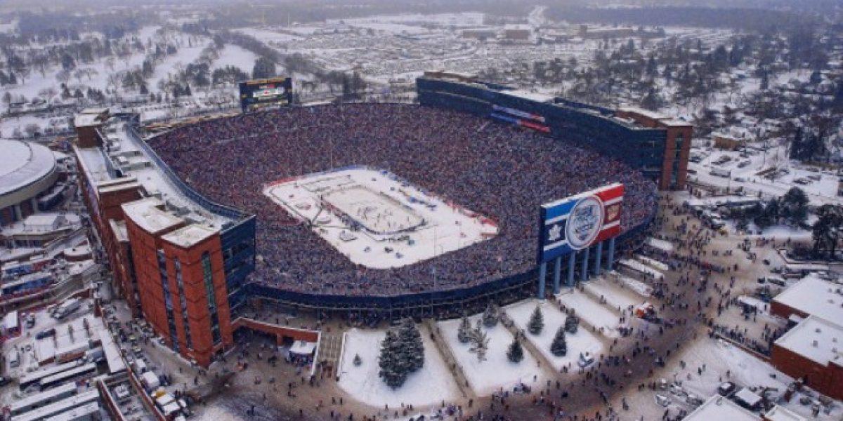 ¡Increíble! Récord de asistencia en encuentro de hockey sobre hielo