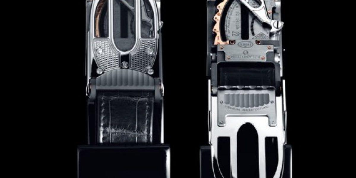 El cinturón Bugatti que es más caro que un Porsche