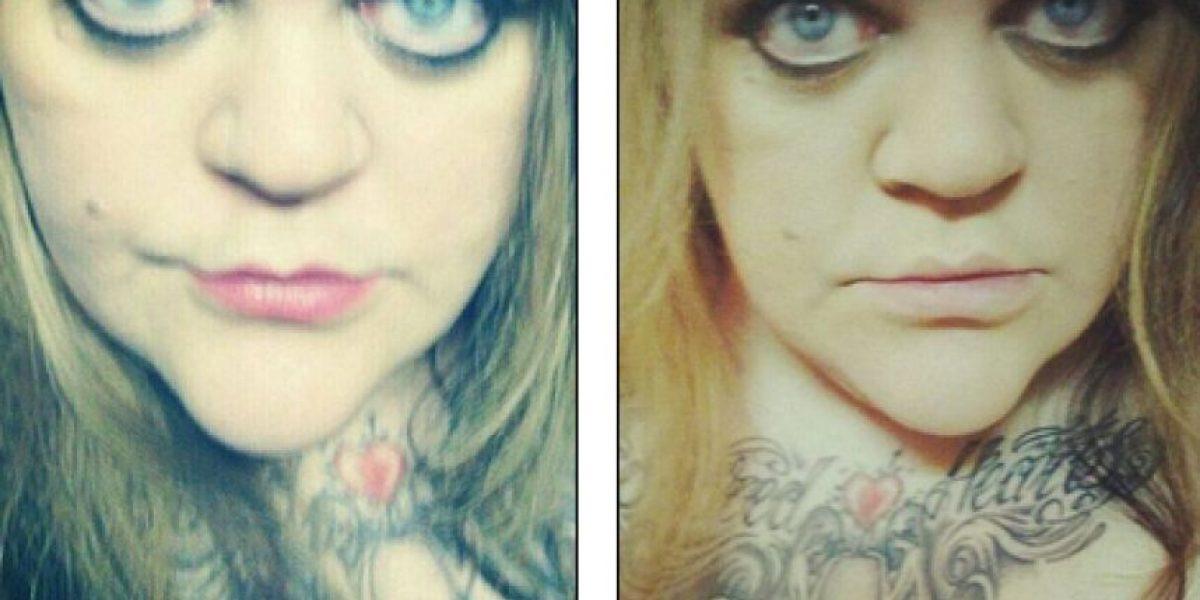 Sube impactante foto a Facebook para pedir ayuda tras golpiza de su marido