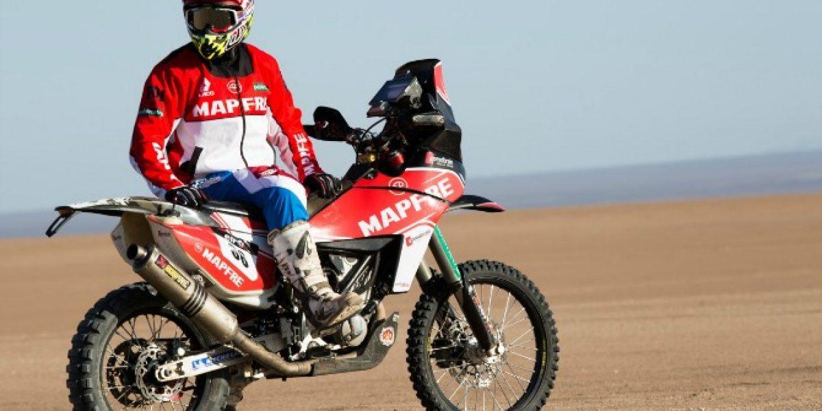 El Jere está listo para demostrar que ya no es un novato en el Dakar